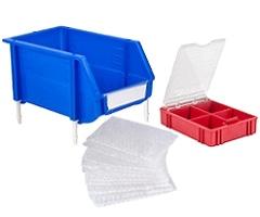 Системы хранения, ящики для запчастей, упаковка